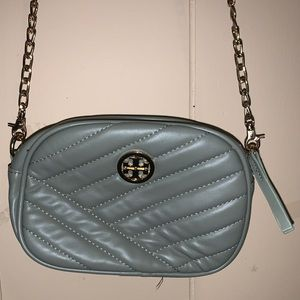 Quilted camera bag / crossbody purse